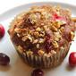 Cranberry Date Muffins