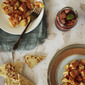 Patatas Bravas and Fruity Sangria