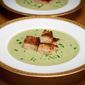 Creamy Asparagus Soup: Lunch For Two