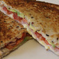Ham, Cheese, Tomato and Avocado Toastie
