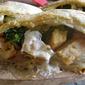 Alfredo Chicken Stromboli