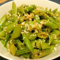 Super Simple Sugar Snap Pea Salad