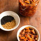 sweet and sour mango pickle, punjabi style