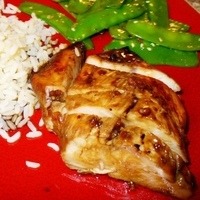 Grilled Turkey Breast Tenderloins (or Pork Tenderloins) with Asian Marinade