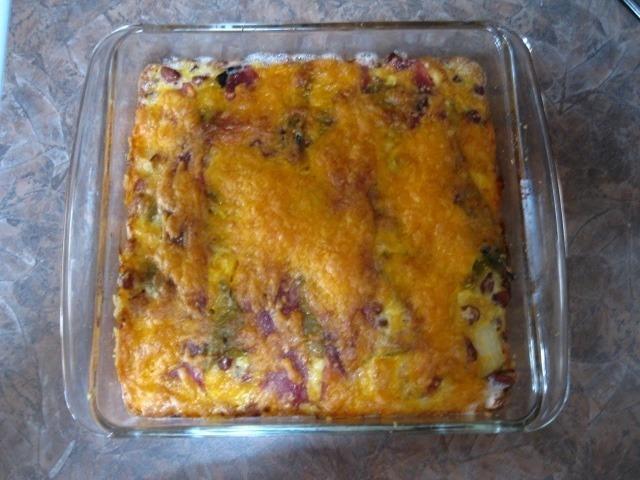 Panz's Southwestern Egg Casserole Recipe by Desert - CookEatShare