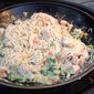 Chicken and Egg Noodles on the Wok