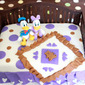 Baby Crib Cake...for a baby shower!