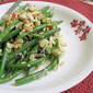 Garlic Haricot Vert (French Beans) with Egg and Chili - 四季豆炒蛋