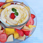 Yogurt Honey Fruit Dip | Quick And Easy Dip For Fruits
