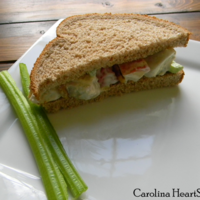 Waldorf Chicken Salad Sandwich