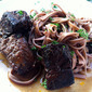 Red Wine Short Ribs and Linguine