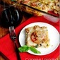 Caprese Lasagna with Spicy Turkey Sausage