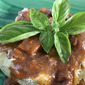 Slow Cooked Short Ribs over Basil Whipped Potatoes