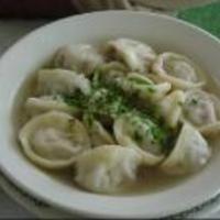 Homemade Pelmeni