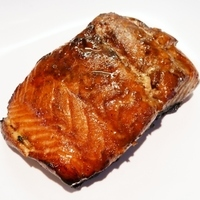 Teriyaki Glazed Grilled Salmon