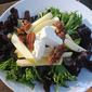 Composed Salad of Mixed Greens, Goat Cheese and Caramelized Pecans