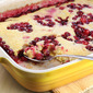 Spring for Alice Medrich's Saucy Cranberry Maple Pudding Cake