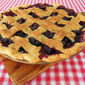 Fresh Blueberry Pie with Lattice Crust