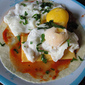 Poached Eggs with Salsa
