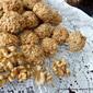 WalCoretti cookies -- Walnut Coconut amaretti