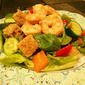 Zesty Shrimp Panzanella Salad