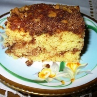 Aunt Birdie's Easy Sour Cream Coffee Cake (Two Versions)