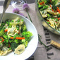 Healthy & Delicious Pasta Salad w/ Vegetables
