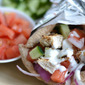 Yogurt-Marinated Grilled Chicken Gyros