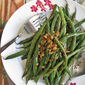 Garlic Long (Green) Beans with Sesame Seeds 蒜炒芝麻香四季豆