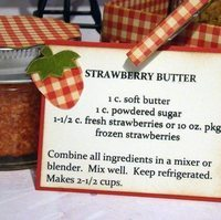Strawberry Butter