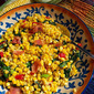 The Mom 100 Cookbook - Sauteed Corn, Spinach, Bacon and Scallions #SundaySupper