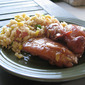 Teriyaki Chicken and Fried Rice