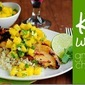 Key West Grilled Chicken with Cilantro-Lime Cauliflower Rice