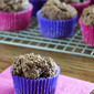Devil's Food Brownie Muffins