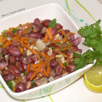 Groundnut Salad / Moongphali Chat / Kadalai Sundal