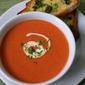 Creamy roast tomato soup