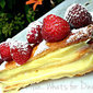 Raspberry and White Chocolate Mille-Feuille