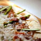 Asparagus Pizza with Ham and Goat's Cheese by Hugh Fearnley-Whittingstall