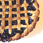 Classic Lattice-Top Blueberry Pie from Fine Cooking Magazine, June/July 2012