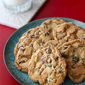 Amazing Chocolate Chip Cookies by Savory Sweet Life {Giveaway}