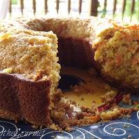 Lightened Up Carrot Cake