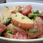 New Potatoes and Asparagus with Lemony Garlic Herb Mayonnaise Salad