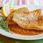 Pan Fried Fish with Red Pepper Sauce