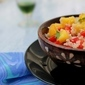 Recipes | Refreshing Couscous Salad with Fresh Fruits & Veggies Drenched in Orange Juice