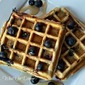 Best Blueberry Buttermilk Waffles