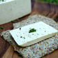 Herb Flax Crackers With Black Pepper & Chive Almond Cheeze