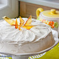 #90) Coco Chai Rooibos Chiffon Cake with Maple Meringue