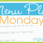 Menu Plan Monday: Week of June 9th, 2012