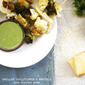 Grilled Cauliflower & Broccoli with Cilantro Pesto