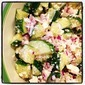 Cucumber, Feta and Red Onion Salad